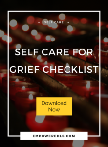self care for grief